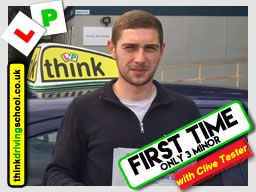 Passed with think driving school in July 2017 and left this review