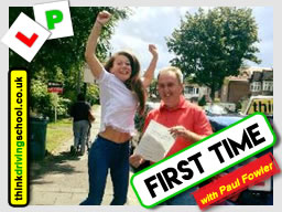 driving lessons Harrow Paul Fowler think driving school August 2017