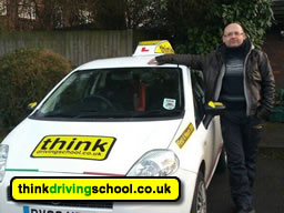 Driving instructor in Byfleet Jan Borzecki