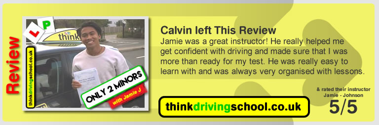 happy leaner left this awesome review of think drivng school