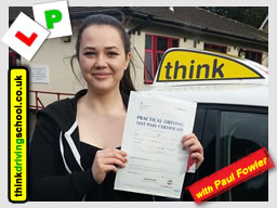 Driving lessons Eastcote paul fowler ADI
