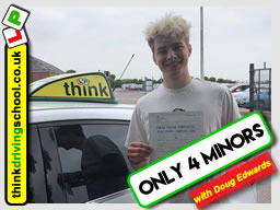 Passed with think driving school in June 2018 and left this 5 star review