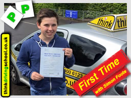 Passed with think driving school in May 2015