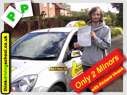 Passed with think driving school in June 2015