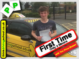 Think silver driving school car for driving lessons