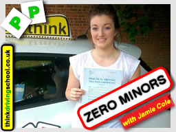 Passed with think driving school in July 2015