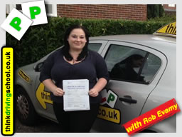 Passed with think driving school in September 2015