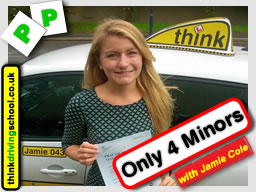 Passed with think driving school in October 2015