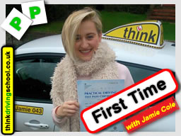 Passed with think driving school in December 2015