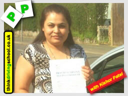 Passed with think driving school in April 2016