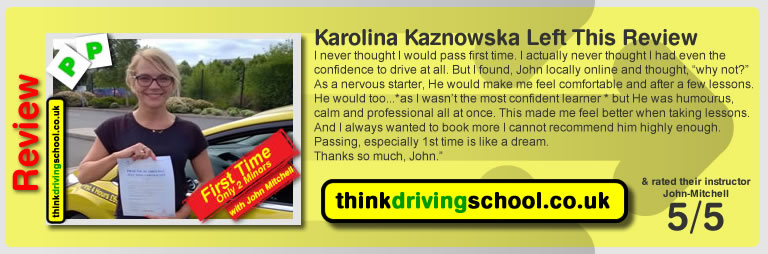 Think Driining School Review June 2015
