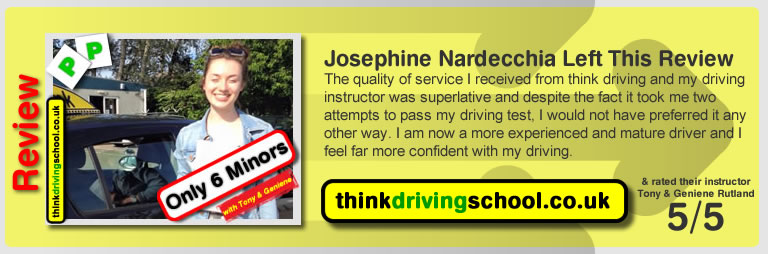 Think Driining School Review June 2015 B+E Lessons
