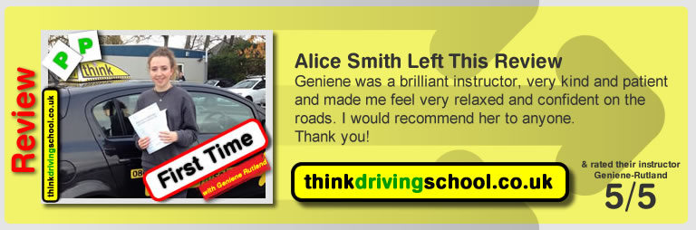 Chris Oram left this review: I can't thank Tony and Geniene enough for being fantastic driving instructors. They made me feel very comfortable and relaxed and made the whole experience of learning to drive very enjoyable. I would highly recommend them.