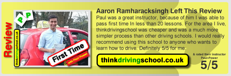 think drivnig school in watford