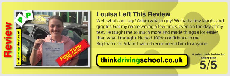louisa  Left This Review of Aaron passed and left this review