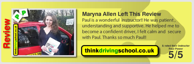 David from Watford driving lessons Watford  think driving school