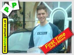 passed with Geniene and Tony from Liphook driving school