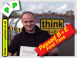 Billy from Marlow passed B+E Trailer Lessons, Hampshire, Surrey, High Wycombe