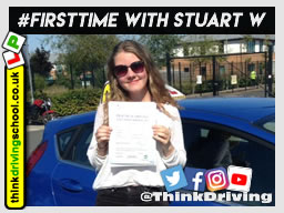5 star awesome review of driving instructor stuart webb January 2019