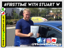 5 star awesome review of driving instructor stuart webb December 2018