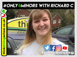 Passed with think driving school in March 2019 and left this 5 star review