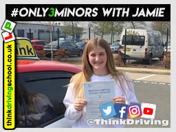 Passed with think driving school in Arpil 2019 and left this 5 star review