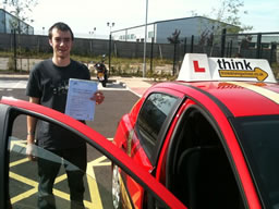 daniel hindhead  happy with think driving school