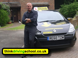 Driving School High Wycombe, think Driving Lessons in High Wycombe with Adam Iliffe