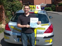 driving lessons whitehill Jamie Johnson think driving school