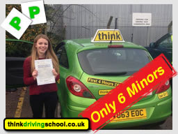 luke borough passed first time with think drivnig schools ian weir adi