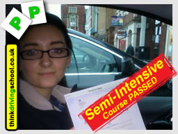 think driving school woking semi sintensive driving course jamie cole adi