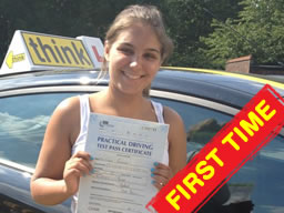 driving lessons Harrow Kate think driving school