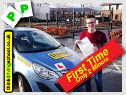 happy think driving school learner from guildford