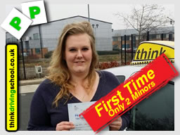 passed with think driving school camberley