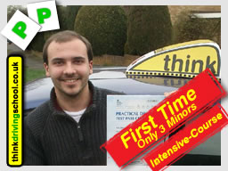 passed with think driving school watford