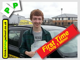 passed with think driving school harrow