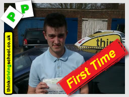 passed with think driving school aldershot