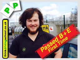 Passed B+E with Adam Iliffe from high wycombe