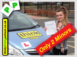 passed with think driving school
