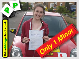 passed with think driving school Automatic lessons in Slough