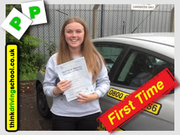 driving lessons bordon Jamie Johnson think driving school
