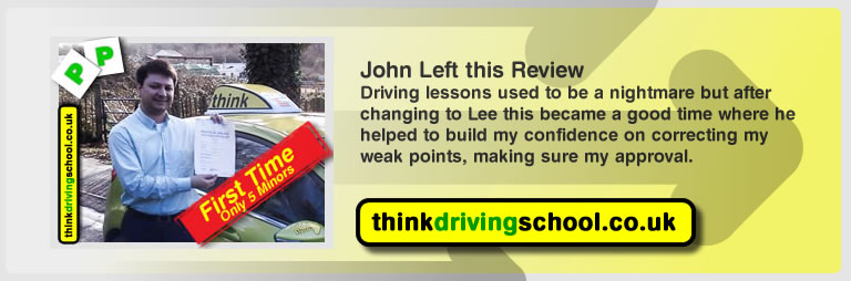john from fareham left this review of driving instructor in fareham lee patterson