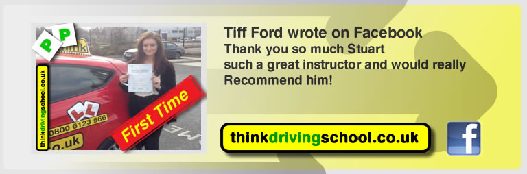 tiff ford left this awesome review of stuart webb of aldershot driving school