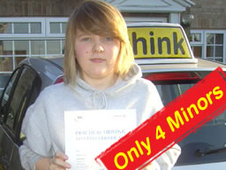 kirsty passed with martin hurley after driving lessons in farnborough