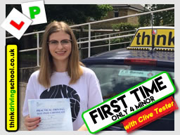 driving lessons Guildford Clive Tester think driving school June 2017