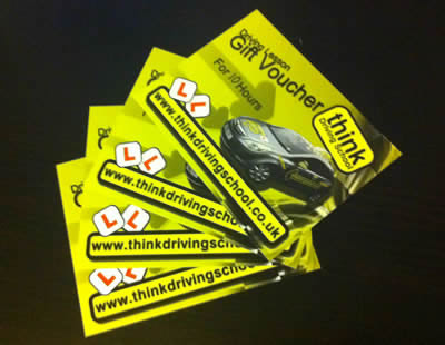gift vouchers for driving lessons isleworth