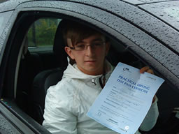 ethan guildford happy with think driving school