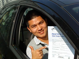 ramesh guildford  happy with think driving school
