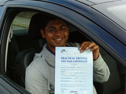 steve guildford  happy with think driving school
