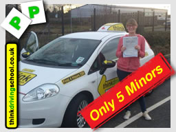 magda passed with think driving school in woking after driving lessons with jan